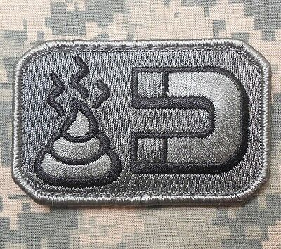 Sh*t Magnet Army Usa Isaf Combat Morale Badge Acu Velcro® Brand Fastener Patch