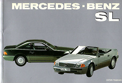 Mercedes Benz - SL - AA.VV. 1992 Edition Francaise, scritto in francese - ST225