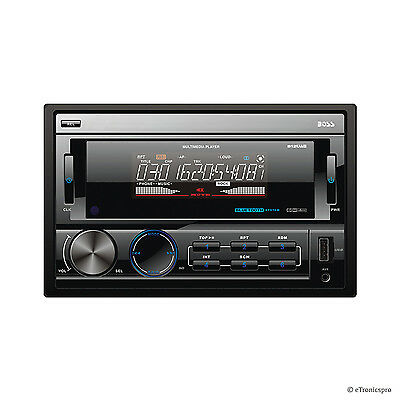 """BOSS 3.2"""" LCD BLUETOOTH CD MP3 PLAYER RADIO USB AUX-IN IN-DASH CAR STEREO VIDEO"""