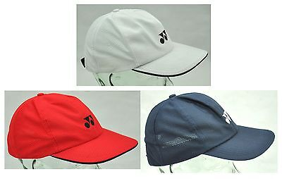 Yonex Logo Sports / Tennis Cap - W-341 - Navy / White / Red