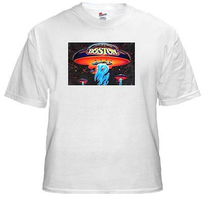 Tee Shirt New Adult Unisex 1980's Rock Legends BOSTON  on quality cotton t-shirt