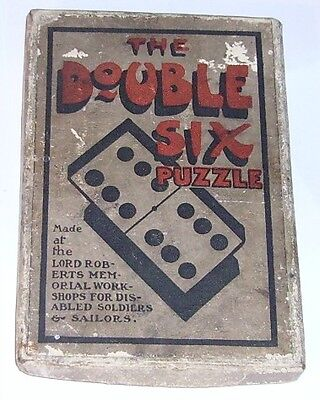 vintage Lord Roberts Workshop The Double Six Puzzle