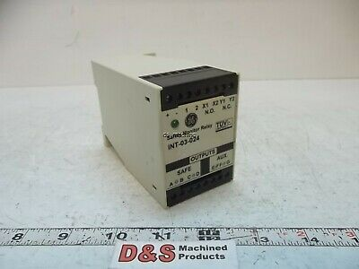 GE INT-03-024 Safety Monitor Relay