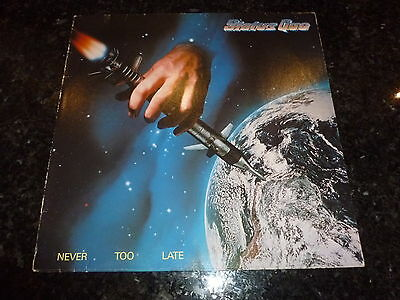 STATUS QUO - Never Too Late - 1981 French 10-track vinyl LP