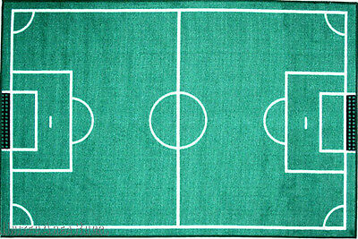 """3x5 SoccerField  Play Game Soccer Time Stadium  Actual Size 3'3""""x4'10""""  FIFA New"""