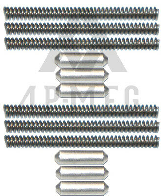 6 Stainless Steel Takedown/Pivot Detent/Pin w/ Springs -- APM