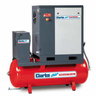 Clarke CXR50DR 5.5HP 200 Litre Industrial Screw Compressor With Dryer 2456307