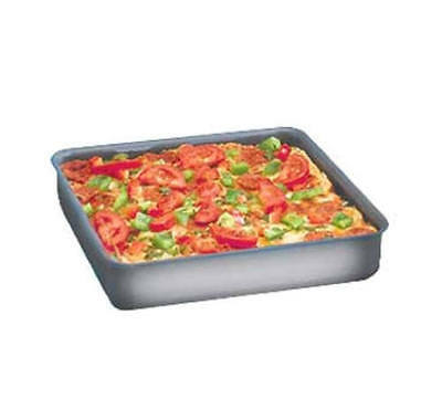 "American Metalcraft 8"" Sicilian Style Square Pizza Pan ~ NEW!"