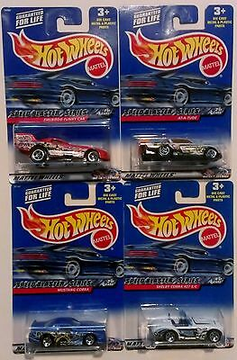 New 2000 Hot Wheels Speed Blaster Series Complete Set of 4 **MINT**