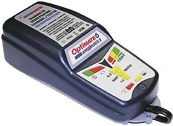 Tecmate OptiMate 6 5Amp Weatherproof Desulfating Charger/Maintainer TM-181