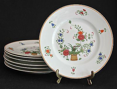 CERALENE RAYNAUD LIMOGES PANIER CHINOIS-CELADON BREAD & BUTTER PLATE 6.5""