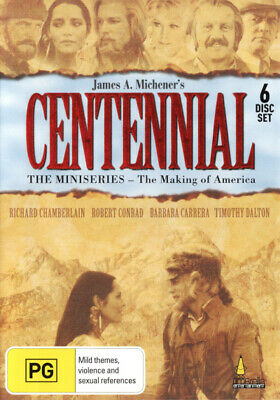 Centennial - The Mini-Series (The Making Of America) DVD R4 Brand New!