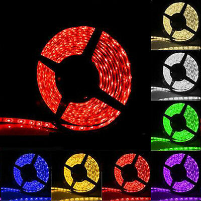 IP65 Waterproof 5050 RGB 5M SMD 300Led Strip Light Bulbs 60 leds/Meter 12V HS