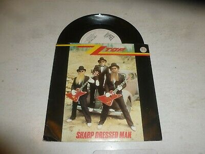 "ZZ TOP - Sharp Dressed Man - 1983 UK 7"" Vinyl single"