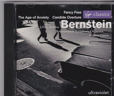 Bernstein - The Age Of Anxiety (CD) Bournemouth Symphony Orchestra  !!!