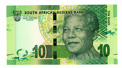 South Africa.....P-133.....10 Rand.....ND(2012).....*UNC*