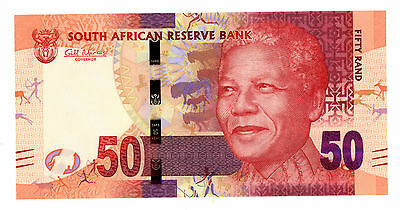 South Africa.....P-135.....50 Rand.....ND(2012).....*UNC*