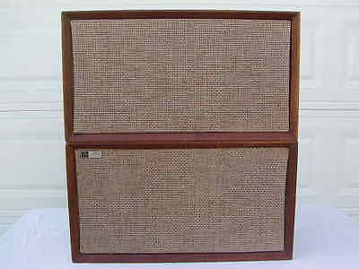 The Fisher Heritage XP-1a XP-1 Vintage early 60's 3 way Speakers Walnut set of 2