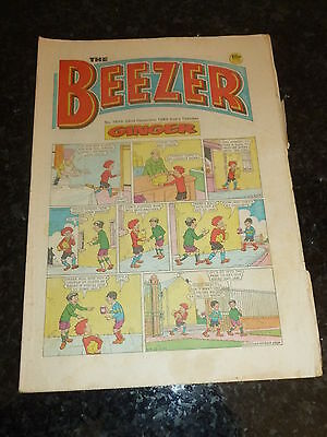 THE BEEZER Comic - Issue 1510 - Date 22/12/1984 - UK Paper Comic