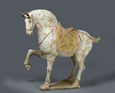 Tang large pottery horse