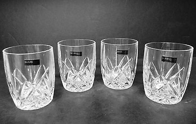 """Waterford Crystal Brookside Double Old Fashions (set of 4)  4 3/8"""" tall .."""