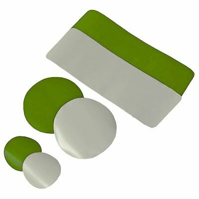Gumotex Repair Patches, Adhesive, Valve Adapter for Inflatable Kayak LIME/GREY