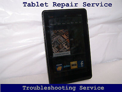 Barnes and Noble Nook Color BNTV250 - USB LCD Glass MB Broken Troubleshooting
