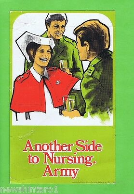 #t34.  1979  Australian Army Recruiting Poster For Nurses
