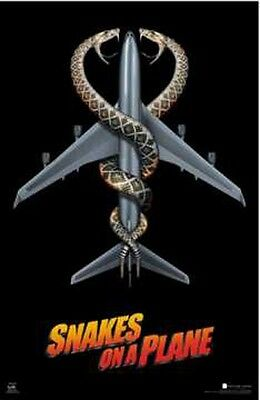 Snakes On A Plane Movie POSTER (59x86cm) Picture Print New Art