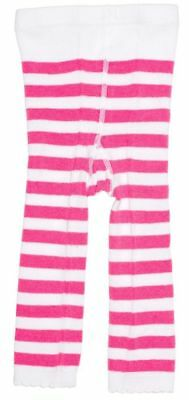 Pink & White Striped Baby Leggings Tights Infant Punk Alternative Rockabilly