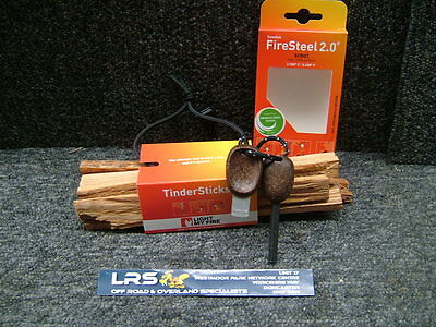 Light My Fire - Scout Firesteel and Tindersticks Fire Lighting Kit