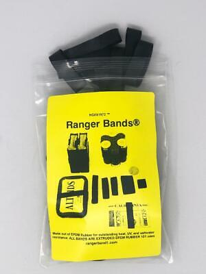 Ranger Bands 24 Mixed Made in the USA from EPDM Rubber Heavy Duty Survival Gear