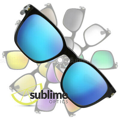 POLARIZED Metallic Ice Blue Replacement Lenses For Oakley Garage Rock  OO9175