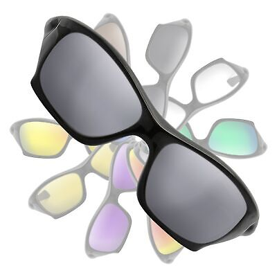POLARIZED Metallic Silver Mirror Replacement Lenses For Oakley Pit Bull