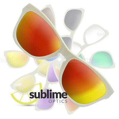 POLARIZED Metallic Fire Red Replacement Lenses For Oakley Jupiter 1.0