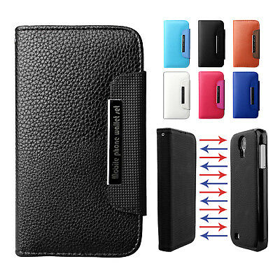 Premium Magnetic Leather Wallet Case Cover For Samsung Galaxy S7 S7 Edge S6 S5