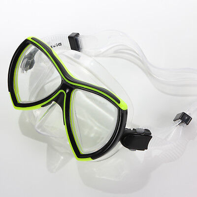 Divetech Ocean Mask Black/Yellow Adult