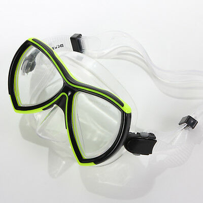 Divetech Ocean Mask - Black / Yellow