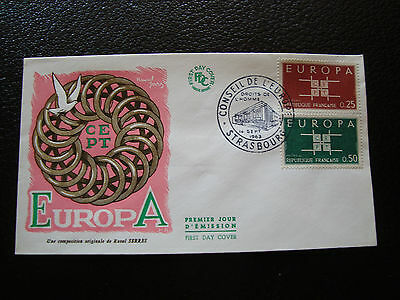 FRANCE - enveloppe 1er jour 14/9/1963 (cy33) french