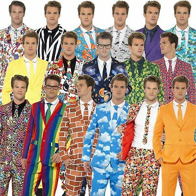 Mens Stand Out Suits Stag Do Party New Comedy Funny Fancy Dress Costume Outfit