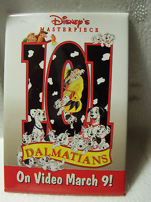 101 DALMATIONS  Disney Movie PINBACK BUTTON PIN  (#300)