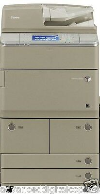 Canon imageRUNNER Advance 6065 Black and White Copier with low meter