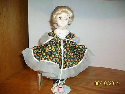 Vintage Effanbee Storybook Collection Gretel 12 inch Doll with swing tag