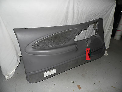 OEM 1996 Mercury Cougar Grey Front Driver's Side Door Card Panel Assembly, LH