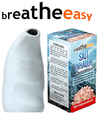 Salt Inhaler | Salt Pipe | Ready To Use Simple DRUG FREE Himalayan Salt Therapy!