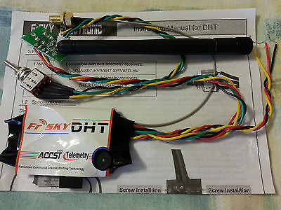 NEW FrSky DHT - DIY Transmitter Module with 2-Way Telemetry System