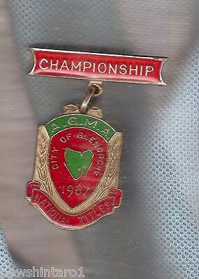 #D70. 1967 Marching Girls Glenorchy  Championship Prize Medal