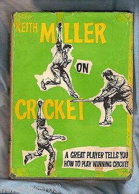 #ww.  Book - Keith Miller On Cricket, 1965