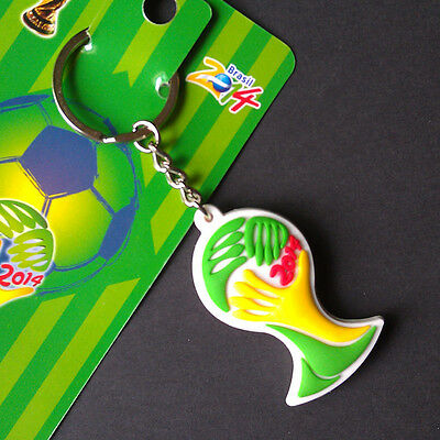 2014 Fifa World Cup Brazil Keyring Keychain Official Logo Football Gift Present