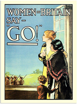 Women Of Britain-  Wartime Poster